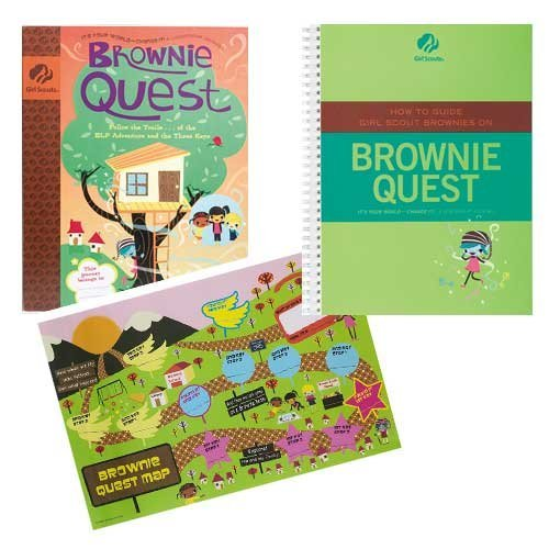 9780884417125: HOW TO GUIDE GIRL SCOUT BROWNIES ON BROWNIE QUEST [Spiral-bound]