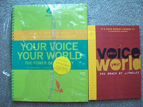 Your Voice You World the Power of: Girl Scouts