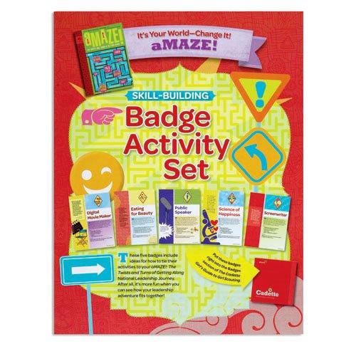 9780884417873: Cadette Amaze Badge Activity Set