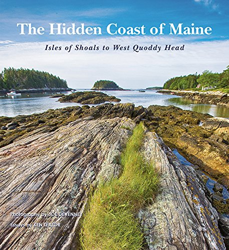 9780884483502: The Hidden Coast of Maine: Isles of Shoals to West Quoddy Head