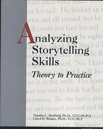 9780884500056: Analyzing Storytelling Skills: Theory to Practice