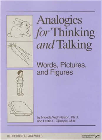 9780884503750: Analogies for Thinking and Talking: Words, Pictures, and Figures