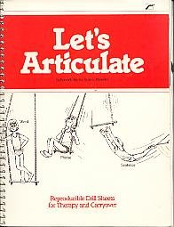 9780884508458: Let's Articulate: Reproducible Drill Sheets for Therapy and Carryover