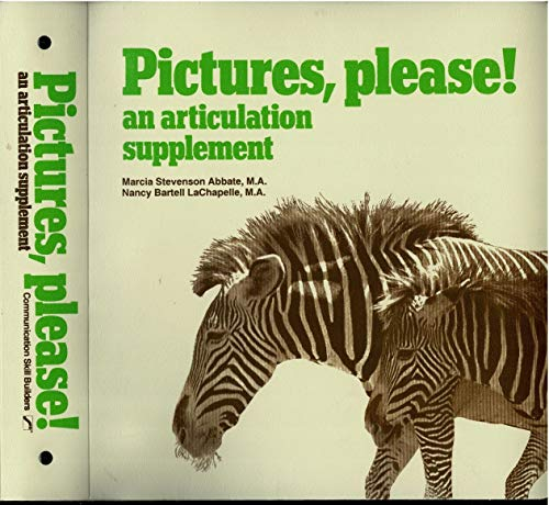 9780884508786: Pictures Please an Articulation Supplement