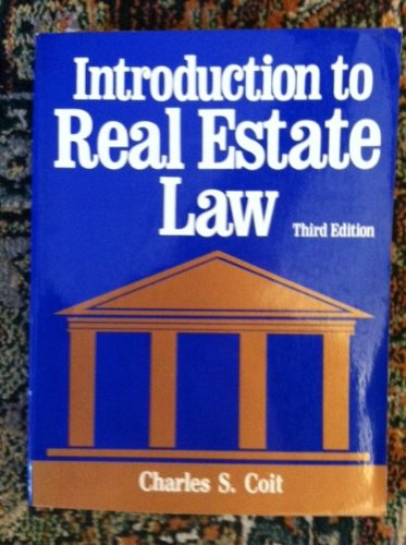9780884620006: Introduction to Real Estate Law