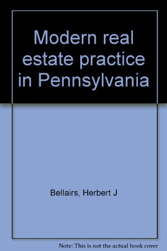 9780884622802: Modern real estate practice in Pennsylvania