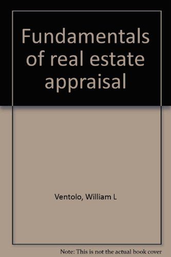 9780884622857: Fundamentals of real estate appraisal