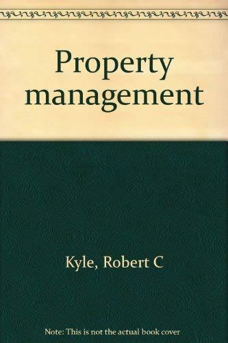9780884623502: Property management