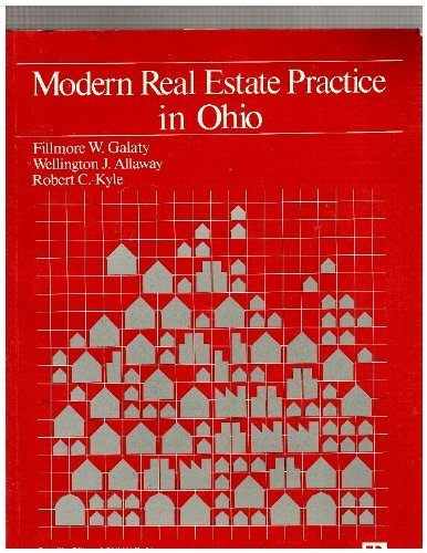 9780884629849: Modern real estate practice in Ohio