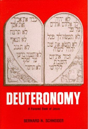 9780884690511: Deuteronomy a Favored Book of Jesus