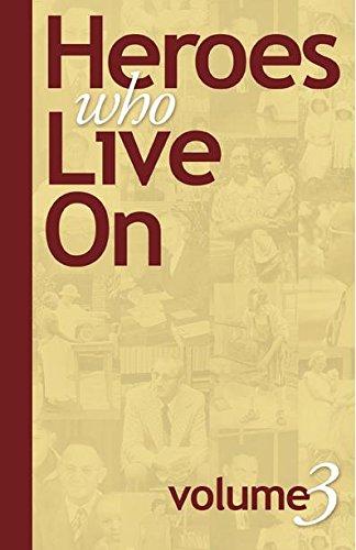 Heroes who Live On, Volume 3: Robert Cover; Sr.; Viki Rife