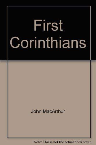 9780884691617: First Corinthians