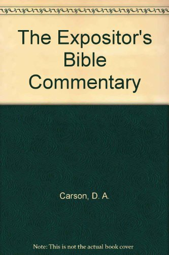 9780884691884: 008: The Expositor's Bible Commentary