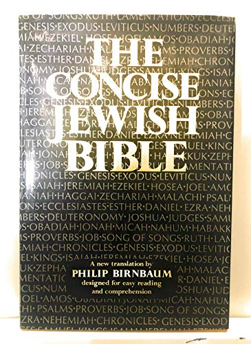 9780884824503: The Concise Jewish Bible