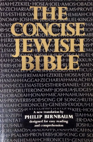 9780884824510: The Concise Jewish Bible (English and Hebrew Edition)