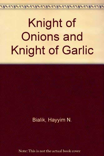 9780884827344: Knight of Onions and Knight of Garlic