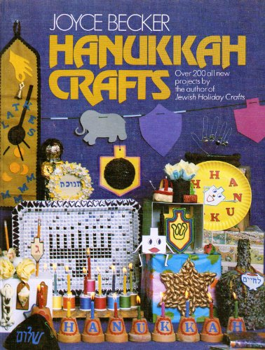 9780884827634: Hanukkah Crafts (A Bonim activity book)