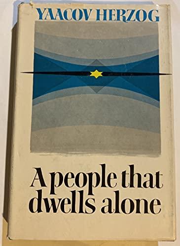9780884828952: A People That Dwells Alone