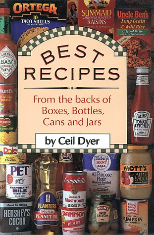 9780884860631: Best Recipes from the Backs of Boxes, Bottles, Cans, and Jars