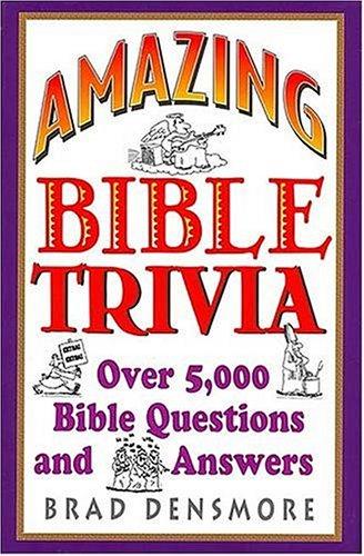 9780884863205: Amazing Bible Trivia