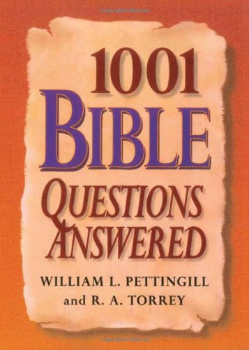 9780884864790: 1001 Bible Questions Answered