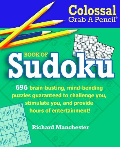 9780884865520: Colossal Grab A Pencil® Book of Sudoku