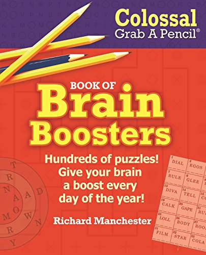 Colossal Grab a Pencil Book of Brain Boosters