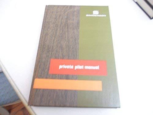 Private Pilot Manual: Jeppesen Sanderson