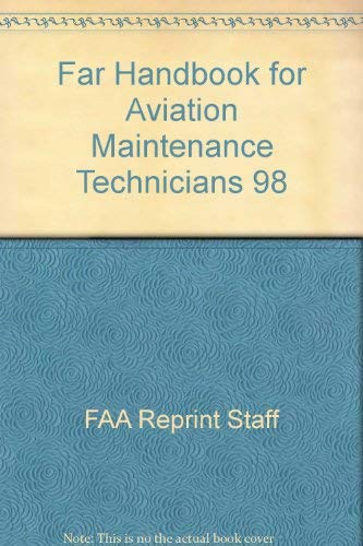 9780884872009: Far Handbook for Aviation Maintenance Technicians 98/JS312616