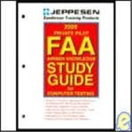 9780884872641: Private Pilot FAA Airmen Knowledge Study Guide for Computer Testing : 1999 (JS312400)