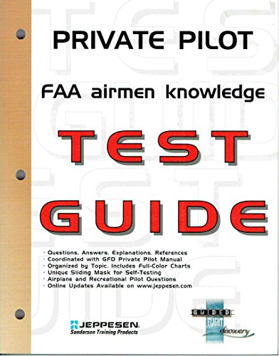 9780884873068: Private Pilot FAA Airmen Knowledge Test Guide for Computer Testing