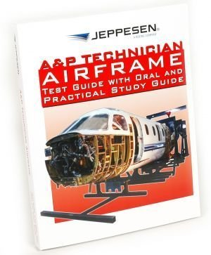9780884873426: A&P Technician Airframe Test Guide with Oral and Practical Study Guide