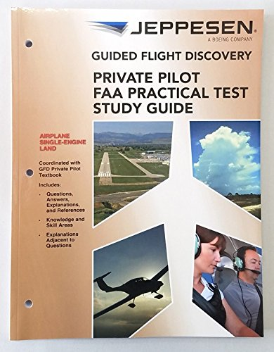 9780884874287: Guided Flight Discovery: Private Pilot FAA Practical Test Study Guide