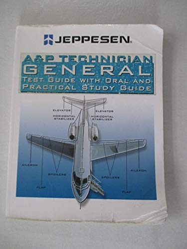 9780884874836: A & P Technician General Test Guide with Oral and Practical Study Guide 2007