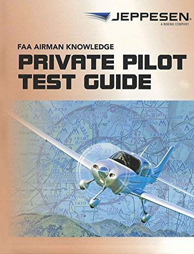 9780884875161: Jeppesen Private Pilot FAA Airmen Knowledge Test Guide - 10001387