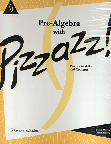 9780884880974: Pre-Algebra With Pizzazz! (Bb)