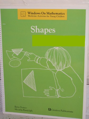 9780884885610: Shapes (Windows on mathematics : worktime activities for young children)
