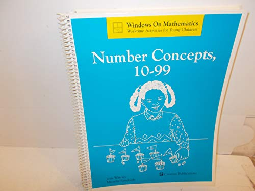 9780884885689: Number concepts, 10-99 (Windows on mathematics : worktime activities for young children)