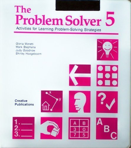 9780884885856: The Problem Solver: Bk. 5 (Activities for Learning Problem-solving Strategies)