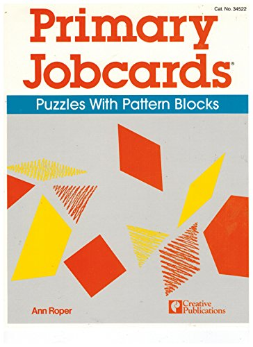 9780884887027: Primary Jobcards Puzzles with Pattern Blocks Cat. 34522 (21 Cards)