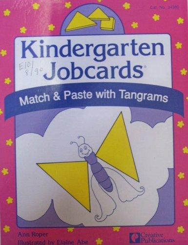 9780884889137: Kindergarten Jobcards: Match & Paste with Tangrams