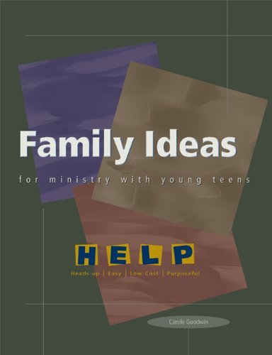 9780884895749: Family Ideas for Ministry with Young Teens (Help Series)