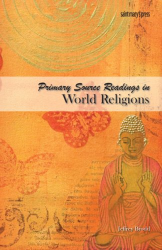 9780884898474: Primary Source Readings in World Religions