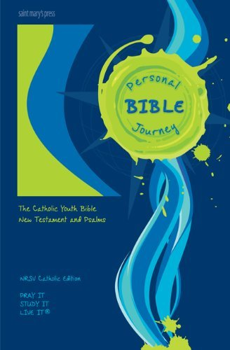 9780884899747: Saint Mary's Press® Personal Journey Bible: New Testament and Psalms