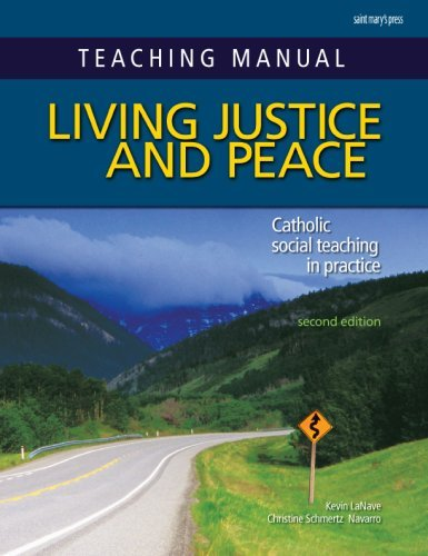 9780884899860: Teaching Manual for Living Justice and Peace, Second Edition: Catholic Social Teaching in Practice