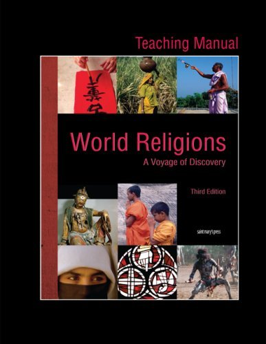 9780884899983: Teaching Manual for World Religions (2009): Voyage of Discovery, Third Edition
