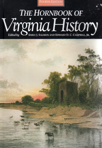 9780884901785: The Hornbook of Virginia History: A Ready-Reference Guide to the Old Dominion's People, Places, and Past