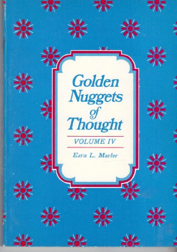 9780884941026: Golden Nuggets of Thought Volume IV 4