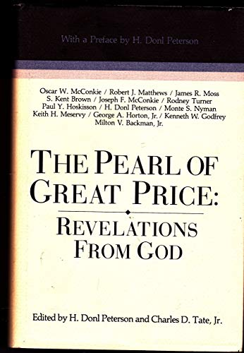 9780884946830: The Pearl of Great Price : Revelations from God