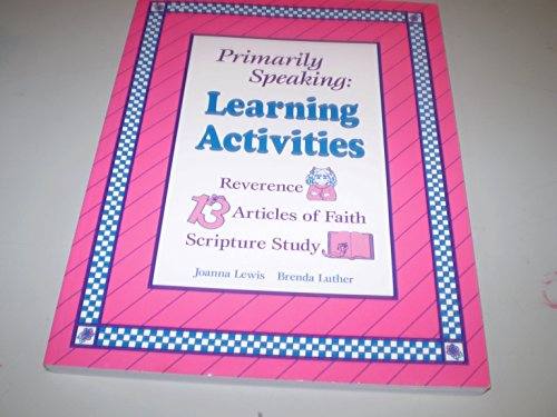 9780884947189: Learning Activities (Primarily Speaking)